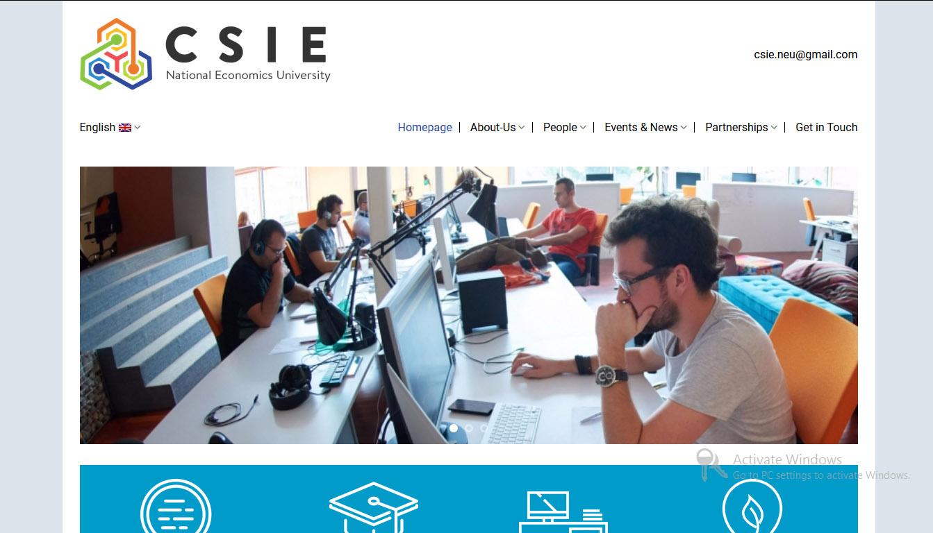 Website giới thiệu trường học công ty dịch vụ