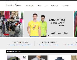 Full sourcecode responsive web shop online mô hình php mvc
