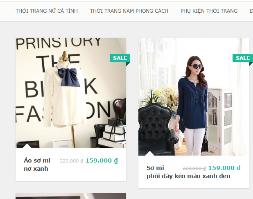 Full source website bán thời trang tuyệt đẹp đã tối ưu chuẩn seo
