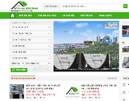 Full source code website bất động sản chuẩn seo mobile tuyệt đẹp