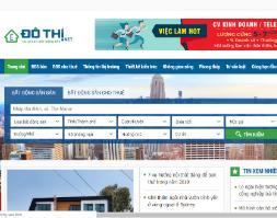 Source code website bất động sản mua bán cho thuê nhà đất chuyên nghiệp Đô Thị bằng wordpress