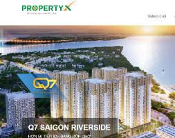 299k sở hữu ngay web dự án bất động sản PropertyX land mẫu mới bằng wordpress