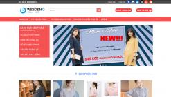 Website bán quần áo thời trang công sở wordpress