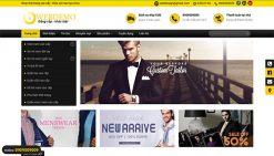 Website bán quần áo thời trang nam nữ wordpress