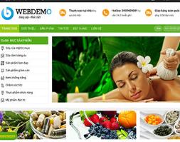 Website bán dược mỹ phẩm kem làm đẹp trắng da