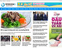 Website tin tức 24h vnexpress tuổi trẻ full source