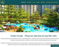Website giới thiệu dự án bất động sản celadoncity chuẩn wordpress