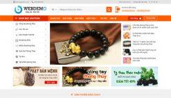 Website bán sản phẩm phong thủy đá quý