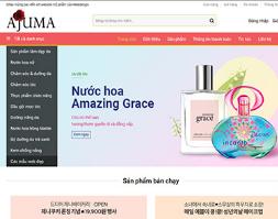 Source code website bán mỹ phẩm nước hoa trang diểm hàng nhập