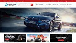 Website bán oto mô tô kia huyndai ford chuẩn seo