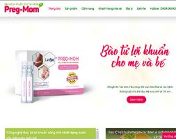 Website giới thiệu sản phẩm thực phẩm thuốc điều trị