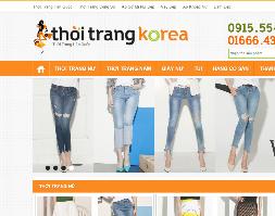 Share free source code bán hàng thời trang hàn quốc